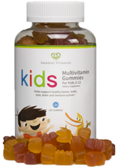 Amanah Children's Multivitamin Gummy
