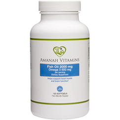 Amanah Vitamins Omega 3 Fish Oil